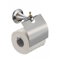 Держатель туалетной бумаги Badico 6951 Хром-золото