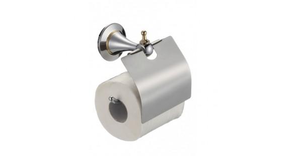 Держатель туалетной бумаги Badico 6951 Хром-золото photo1