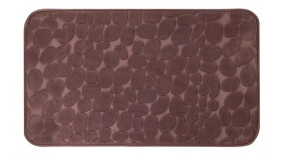 Коврик для ванной комнаты Trento Coral Velvet Ground коричневый 46561 photo1