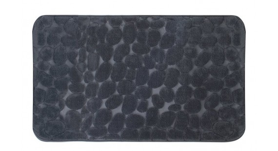 Коврик для ванной комнаты Trento Coral Velvet Ground серый 46562 photo1
