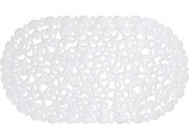 Коврик для ванной комнаты Trento Stone белый 46017