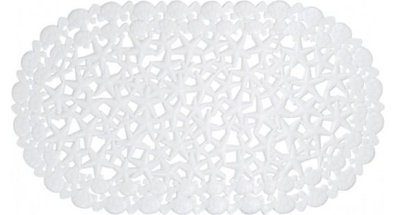Коврик для ванной комнаты Arino морская звезда белый 36710 photo1