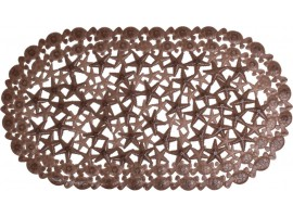 Коврик для ванной комнаты Arino морская звезда коричневый 36712