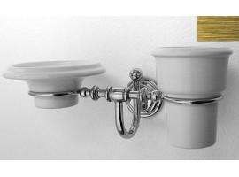 Стакан и мыльница подвесные Pacini & Saccardi ROME 30056 B