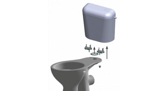 Бачок для керамического унитаза Универсальный  photo1
