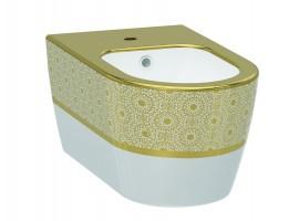 Биде подвесное IDEVIT Alfa 3106-2605-1101 золото