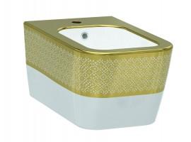 Биде подвесное IDEVIT Halley 3206-2605-1101 золото