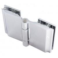 Петля для стеклянной двери HX-6843 Chrome