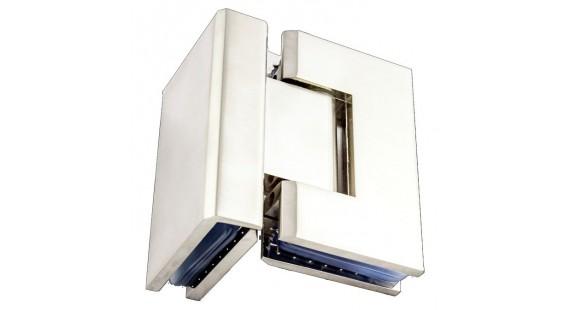 Петля для стеклянной двери K 104 Satin photo1