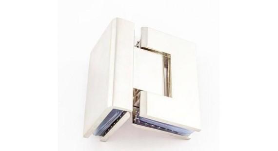 Петля для стеклянной двери K 104 Chrome photo1
