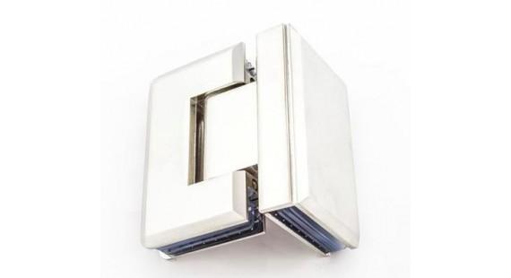 Петля для стеклянной двери K 204 Satin photo1