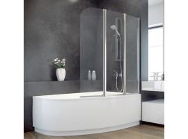 Душевая штора на ванну 123х140см Besco PMD Ambition - 3