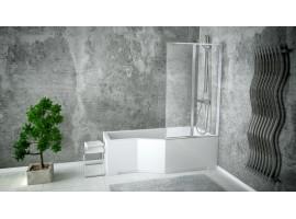 Душевая штора на ванну 80,5х140см Besco PMD Ambition Premium - 2