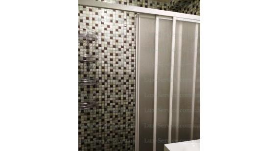 Душевая штора на ванну 150х140см КДШ  photo1