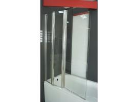Душевая штора на ванну 100х140см Vilarte SC-100