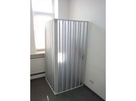 Душевая кабина 90х90см PVC-90-1