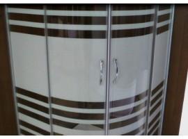 Душевая кабина 90x90 см Sansa S-90/15-2 Lines