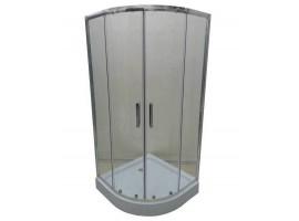 Душевая кабина 80х80 см Veronis KN-3-80 прозрачное стекло
