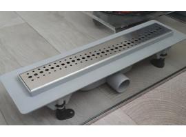 Душевой канал 390 мм трап сливной с сухим затвором Plastbrno SZE 2390