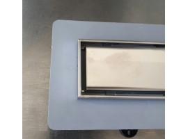 Душевой канал 390 мм трап в пол сливной с сухим затвором Plastbrno SZE 5390