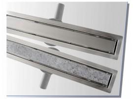 Душевой канал-лоток 1000 мм линейный с сухим затвором 2 в 1 BW-Tech R041000