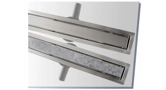 Душевой канал-лоток 1000 мм линейный с сухим затвором 2 в 1 BW-Tech R041000 photo1