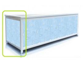 Экран под ванну торцевой Pan Bilan ELIT Голубые ракушки