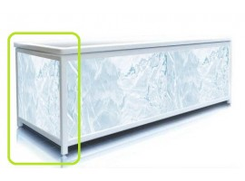 Экран под ванну торцевой Pan Bilan ELIT Голубой лед