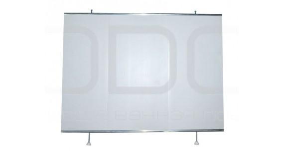 Экран под ванну торцевой 67x56 см ODA УНИВЕРСАЛ Белый photo1