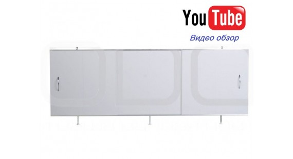 Экран под ванну 170x56 см ODA УНИВЕРСАЛ Белый photo1