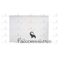 Торцевой экран под ванну 69x50 см Радостный слон Premium Белый
