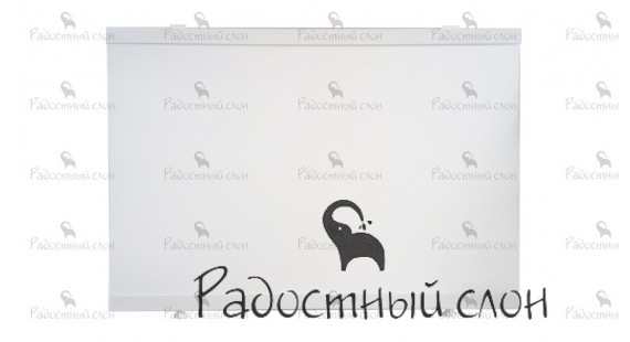 Торцевой экран под ванну 69x50 см Радостный слон Premium Белый photo1