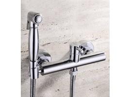 Смеситель для биде с гигиеническим душем Art Design 023 Хром