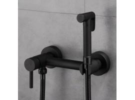 Смеситель для биде с гигиеническим душем Art Design 4556 Черный