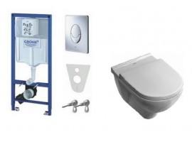 Инсталляция Grohe Rapid SL 38721001 комплект с унитазом Villeroy & Boch Onovo 5660H10+SoftClose