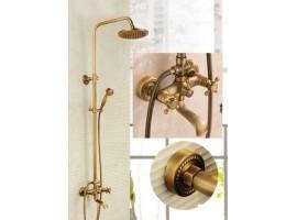 Душевая колонна со смесителем для ванны Art Design 6133-01DS DECO SPICA БРОНЗА