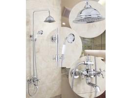 Душевая колонна со смесителем для ванны Art Design 6133-02 Хром