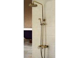Душевая колонна со смесителем для ванны Art Design 800400 Бронза