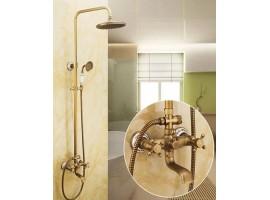 Душевая колонна со смесителем для ванны Art Design Deco 6133-01 Бронза