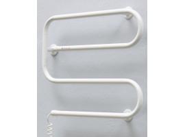 Полотенцесушитель электрический Теплый мир Еврозмейка 520х620 мм белый