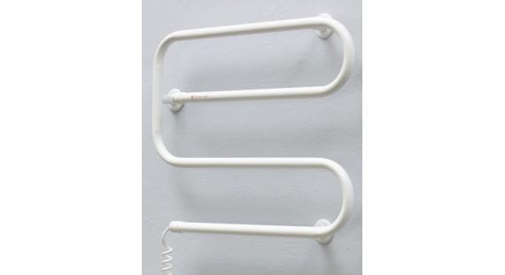 Полотенцесушитель электрический Теплый мир Еврозмейка 520х620 мм белый photo1