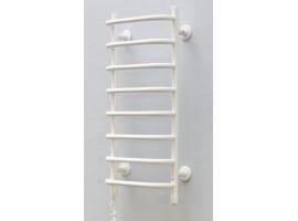Полотенцесушитель электрический Теплый мир Слим 710х365 мм белый