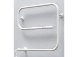 Полотенцесушитель электрический Теплый мир Змейка Эго 510х625 мм белый