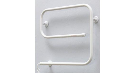 Полотенцесушитель электрический Теплый мир Змейка Эго 510х625 мм белый photo1