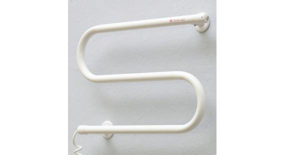 Полотенцесушитель электрический Теплый мир Змейка Плюс 380х485 мм белый photo1