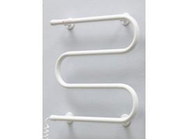 Полотенцесушитель электрический Теплый мир Змейка 535х505 мм белый