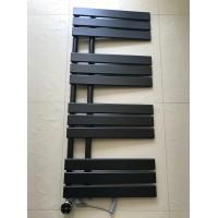 Дизайнерский электрический полотенцесушитель Antibes 12 500х1130 черный матовый