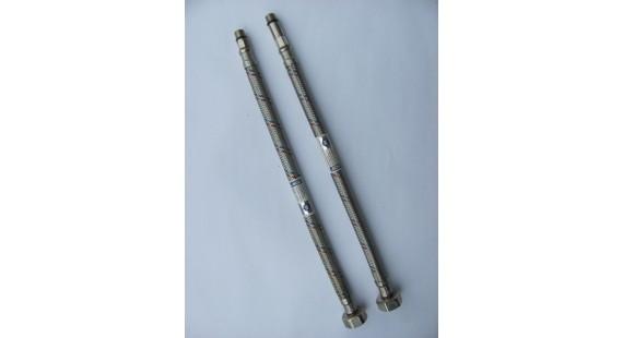 Шланги для подключения смесителя Mateu FIL-NOX GRIFERIA M10 × 1/2  0.50 м  комплект photo1