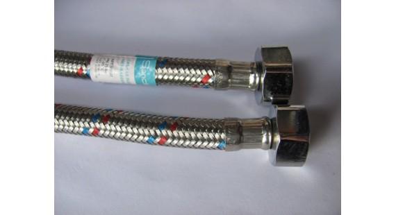 Шланг соединительный для подключения воды Sandi Plus 1/2  0.80 м  в-в photo1