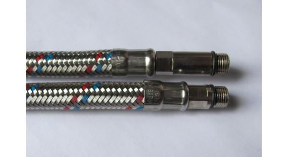 Шланги для подключения смесителя Sandi Plus M10 × 1/2  1.00 м  комплект